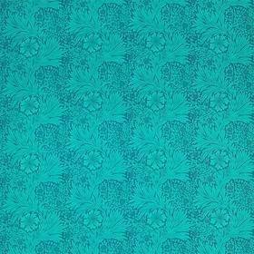 Ben Pentreath For Morris & Co Marigold Navy-Turquoise 226846