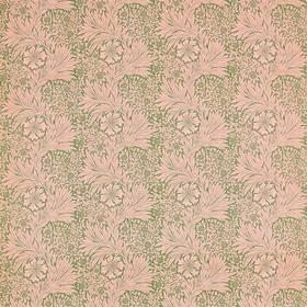 Ben Pentreath For Morris & Co Marigold Olive-Pink 226847