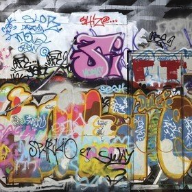 Ohpopsi Graffiti Wall XLWS0007