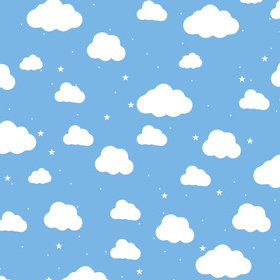 Ohpopsi Cartoon Cloudy Sky XLWS0445