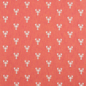 Sanderson Cromer Embroidery Coral 236677