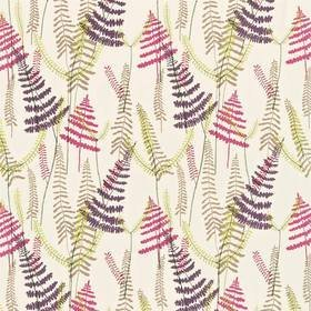 Scion Athyrium Plum-Fuchsia-Linen-Lime 133531