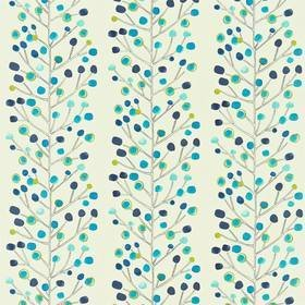 Scion Berry Tree Peacock-Powder Blue-Lime 120926