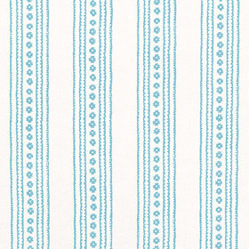 Thibaut New Haven Stripe Turquoise F910609
