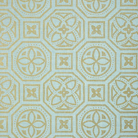 Thibaut Alexander Metallic Gold-Blue T83023