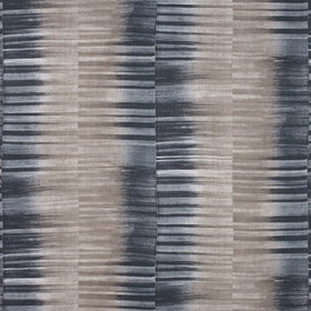 Thibaut Mekong Stripe Charcoal-Taupe F910089