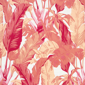 Thibaut Travelers Palm Pink-Coral F910130