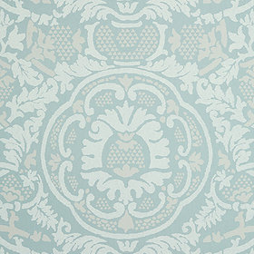 Thibaut Earl Damask Robins Egg T10839