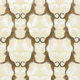 Thibaut Cheetah Metallic Gold T4939