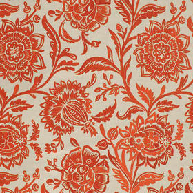 Thibaut Rivera Embroidery Coral-Flax W713047