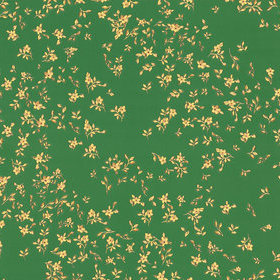 Versace Barocco Ditsy Flowers Green-Gold 93585-6