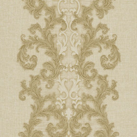 Versace Baroque & Roll Panel Bronze-Natural 96232-2