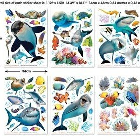 Walltastic Sea Adventure Room Decor Kit 45453