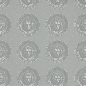 Zoffany Medallion Silver-Perfect White 312976