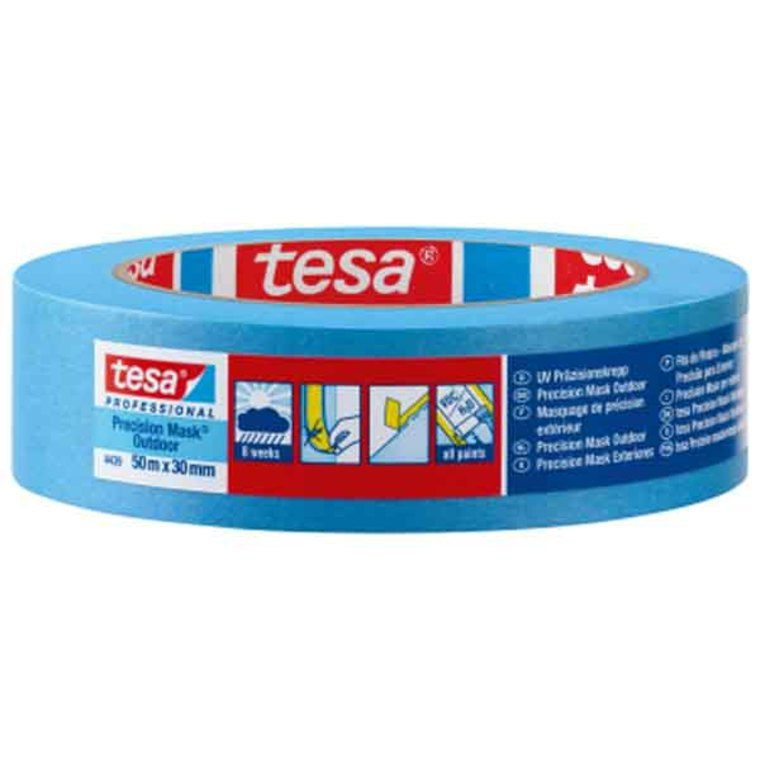 Tesa precision outdoor masking tape 25mm ma443925 for Decoration masking tape
