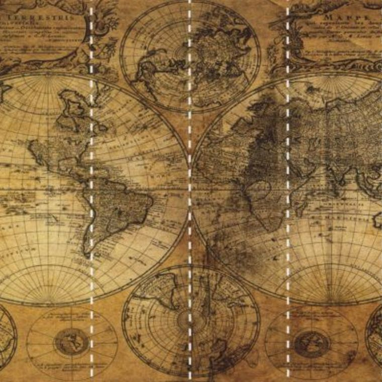 steampunk map wallpaper - photo #18