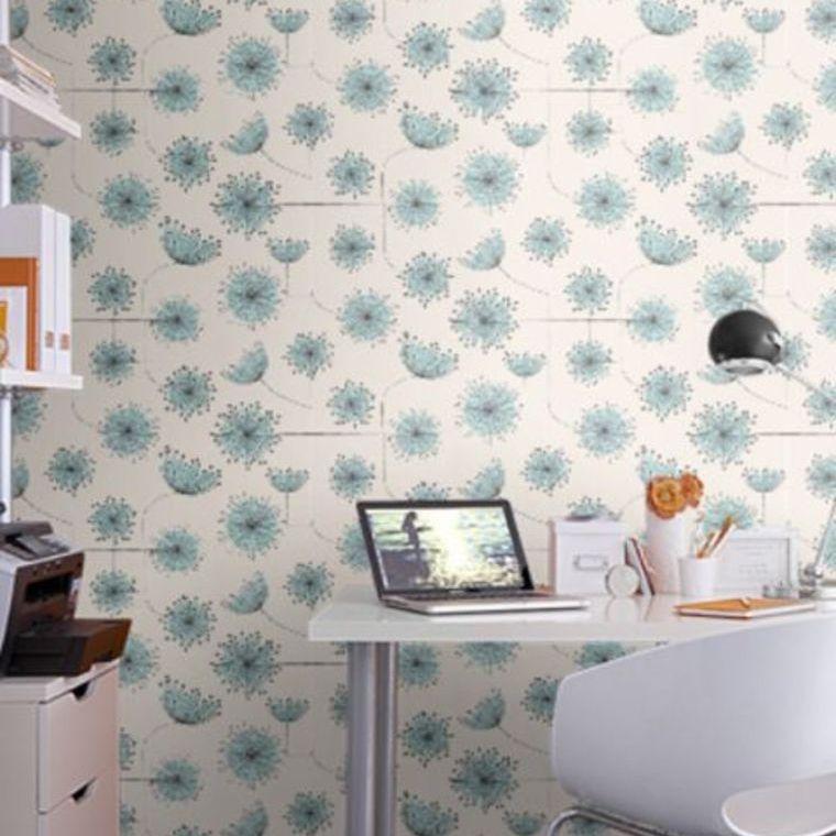 Miss Print Dandelion Mobile Storm With Coral MISP1025 Thumbnail Home Design Ideas