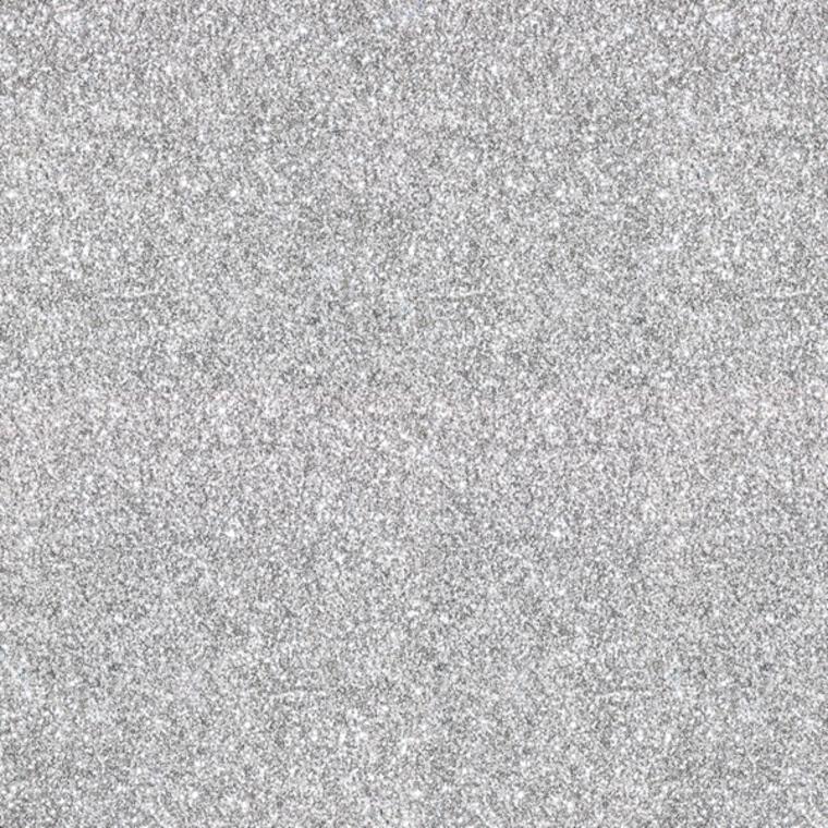 Muriva Sparkle Plain Glitter Silver 701352