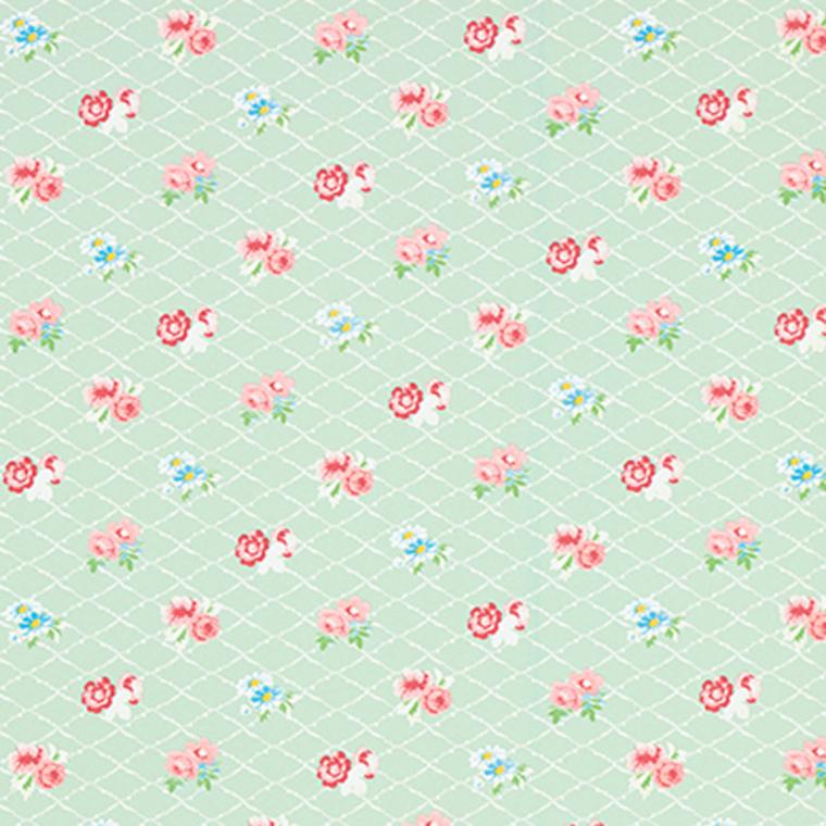 Coordonne Losange Mint Blue Pink Green 3900036