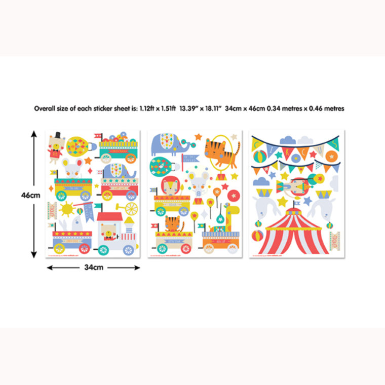 circus wall stickers 44968 walltastic select wallpaper animal circus stickers wall murals ireland