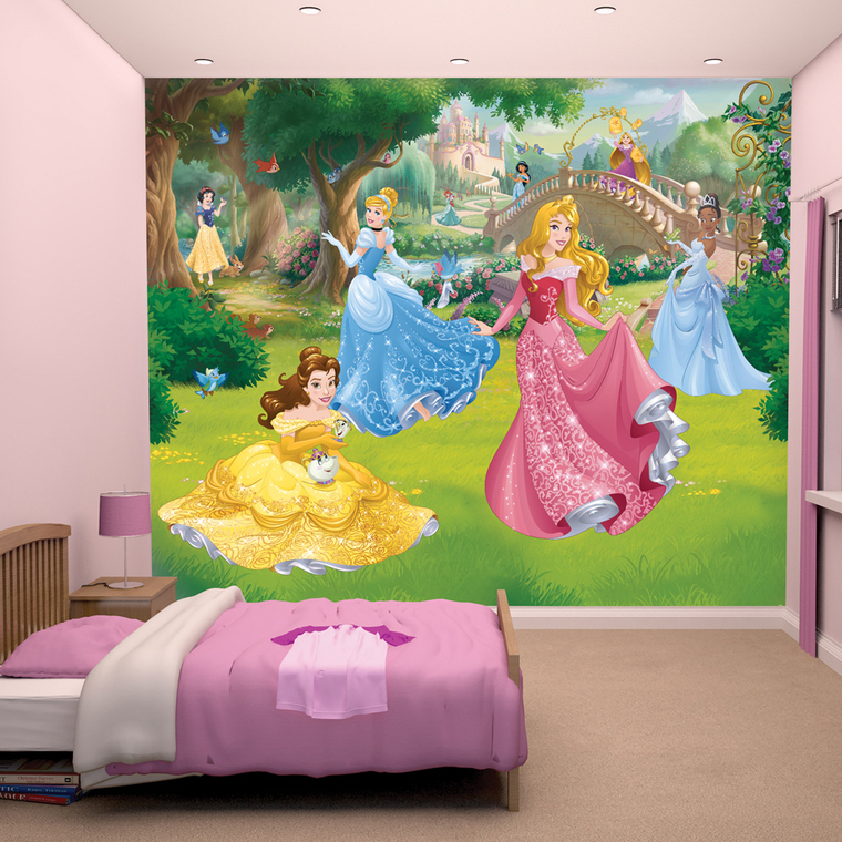 Disney Princess Mural 438000 Thumbnail